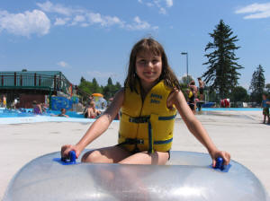 E at Woodland Water Park