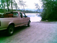 Fishing Spot on Flathead River
