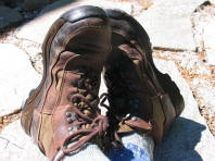 These boots are made for walking - my old Danner hiking boots